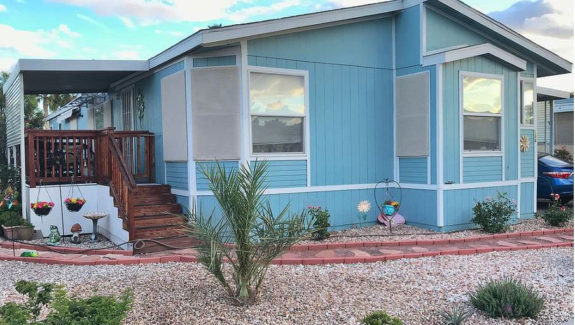 Manufactured Home For Sale in family park Las Vegas, Nevada ABC Mobile Homes - abcmobilehomes.com