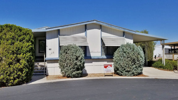 Manufactured home for sale Flamingo West mobile home park Las Vegas Nevada