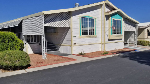 Mobile Home For Sale in 55+ Gated Community Las Vegas, NV abcmobilehomes.com